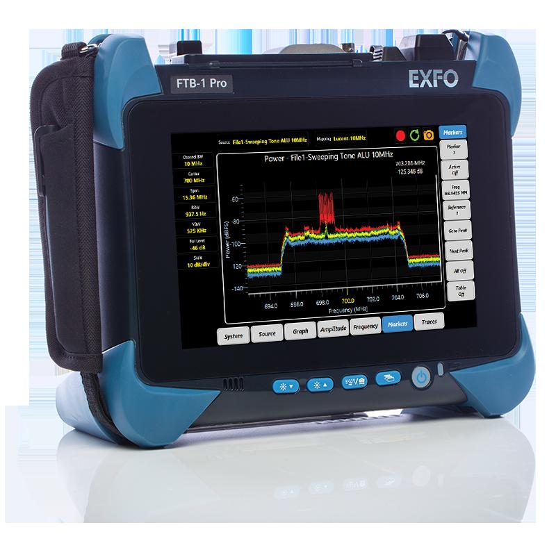 FTB-1 Pro平台配备OpticalRF应用程序