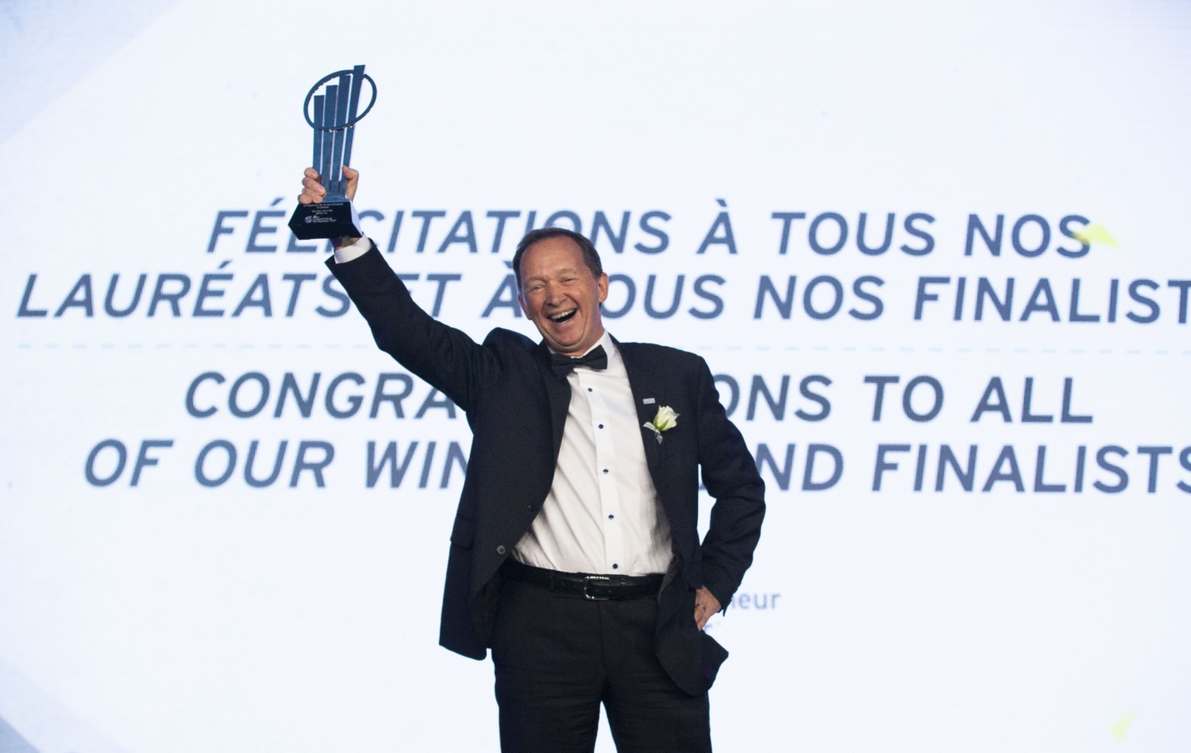 Germain Lamonde named  EY Entrepreneur Of The Year 2018 Canada